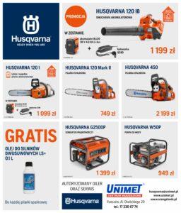Promocja Husqvarna-Unimet
